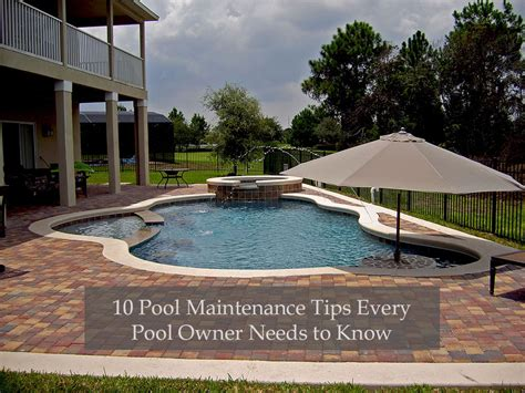 pool care tips 10 pool maintenance tips every pool owner needs to