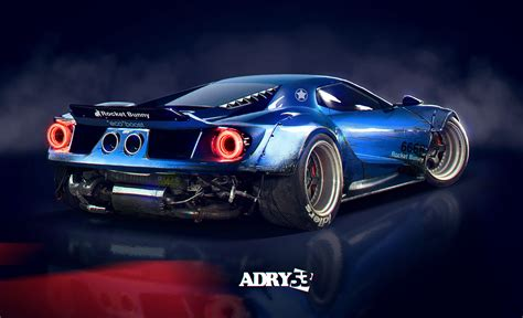Raket Rs Speed Blue ford gt rocket bunny by adry53 on deviantart