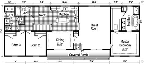 ranch style modular home floor plans modern home plans carthage ranch style modular home pennwest homes model