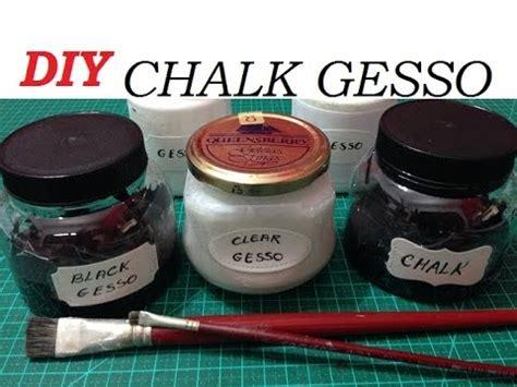 diy chalk paint with gesso gesso giz chalk gesso como fazer diy est 250 dio