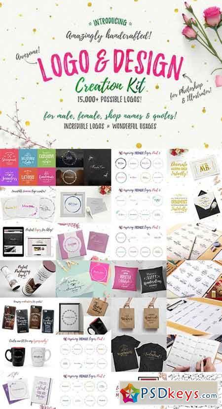 free logo design kit awesome logo design creation kit 735780 187 free download