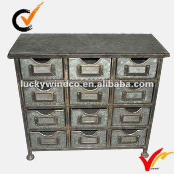 galvanized metal locker dresser galvanized mini antique small drawing storage cabinet on