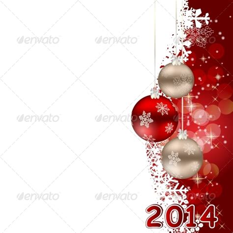 2014 christmas and new year background graphicriver