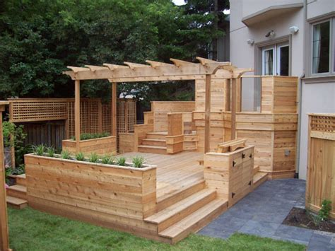 Planters On Deck by Built In Deck Planters Gardens
