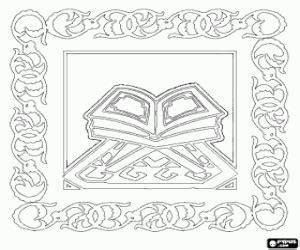 Alcor 227 O Livro De Allah Deus Em Desenhos De Isl 227 O Ou Isl 227 Islamismo Para Colorir Jogos