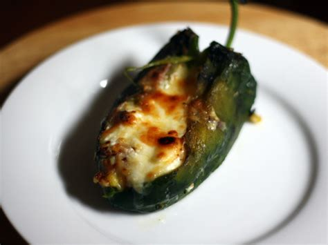baked chile rellenos with corn and crema recipe serious eats