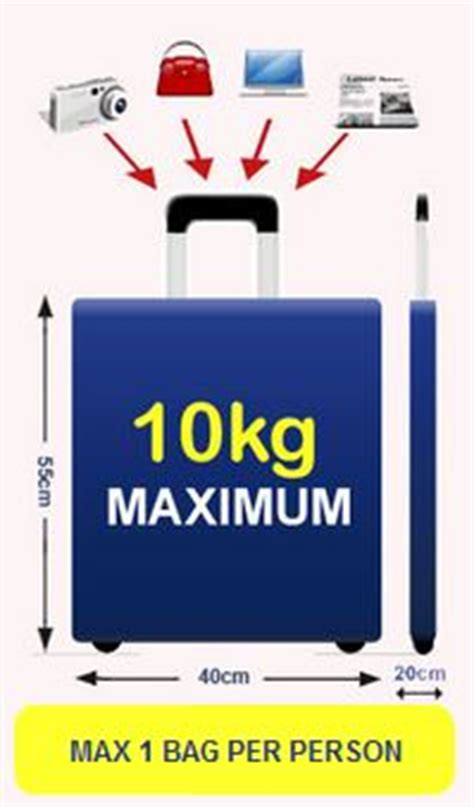 ryanair cabin baggage size ryanair luggage and checked baggage allowance