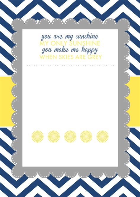 baby shower templates for word you are my baby shower printables how to nest