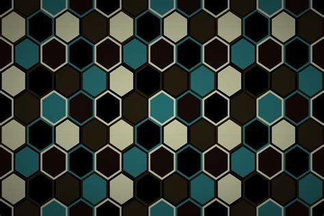 random hexagon quilt wallpaper patterns