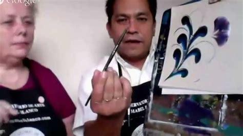 pintura decorativa  pinceladas miguel rincon youtube