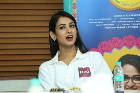 sonal chauhan latest movie sonal chauhan latest stills at size zero movie interview