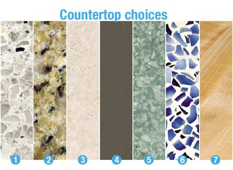 Countertops Choices by The Kitchen Area Is One Area In Your House