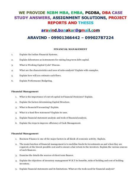 Mba 606 Managerial Finance Financial Analysis Report by Explain Financial Statement Analysis And Tools Of