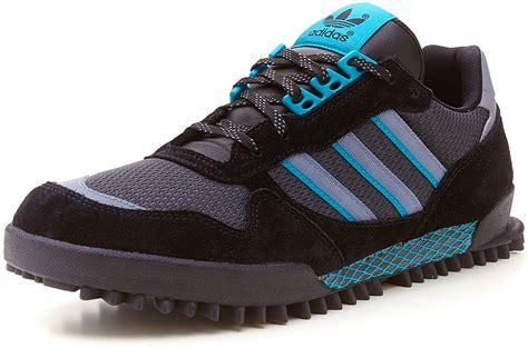 Sepatu Adidas Marathon Tracking Tr10 2 adidas originals s marathon tr grey blue retro running trainers g56695 ebay