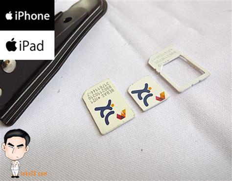 Pemotong Kartu Sim Cutter Baku Murah pemotong kartu atau micro sim cutter