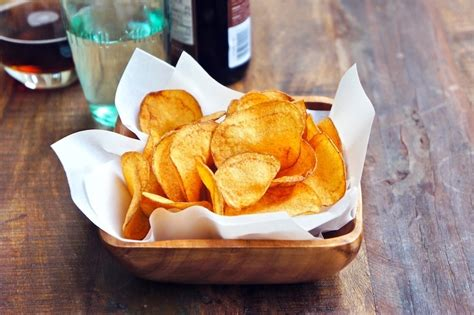 Handmade Chips - seasaltwithfood potato chips
