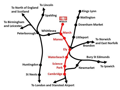 www march on line learn more wisbech rail reopening caign