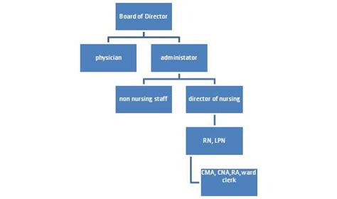 nursing chain of command chart pictures to pin on