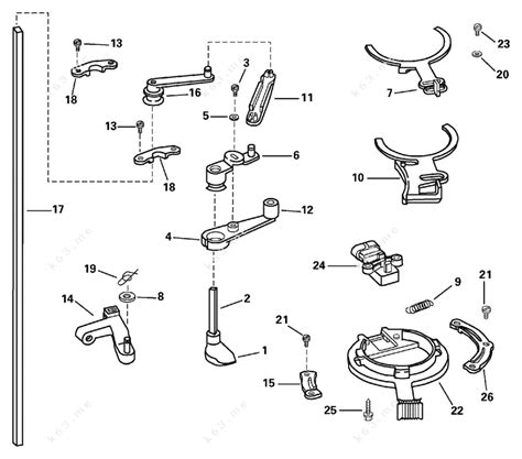 Johnson 2003 150 J150pxstm Throttle Linkage Parts Catalog