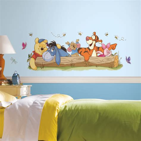 winnie the pooh wall sticker winnie the pooh outdoor wall decals rosenberryrooms