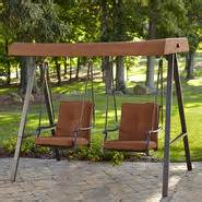 patio swings find decorative porch swings for your yard