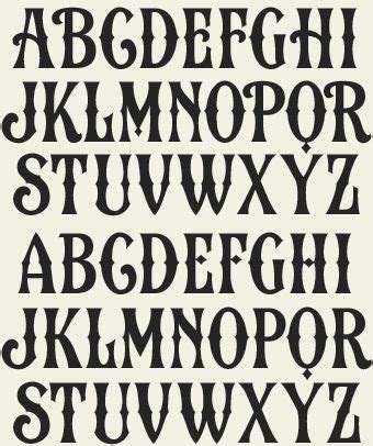 printable western font letters letterhead fonts lhf country road vintage western
