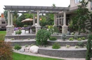 backyard patios kitchens gardens designed by landscape