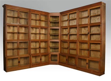 Large Bookcases For Sale large oak globe wernicke style stacking bookcase 258334 sellingantiques co uk