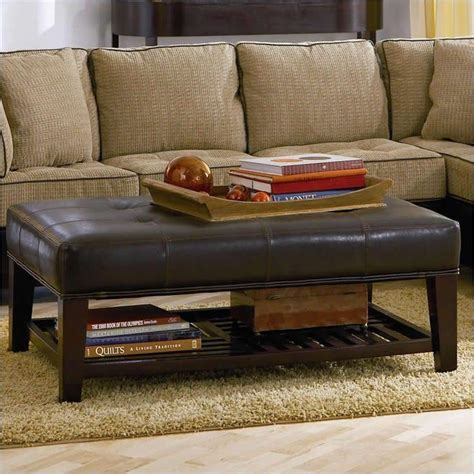 ottoman instead of coffee table 1000 ideas about ottoman coffee tables on pinterest