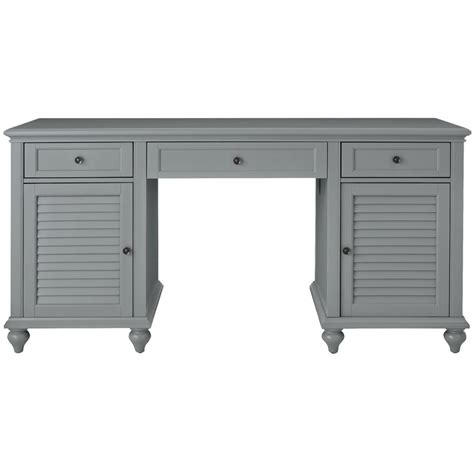 grauer schreibtisch home decorators collection hamilton grey desk 9786600270