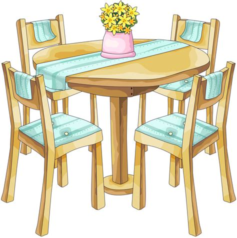 doll kitchen table table and chairs clip misc clipart
