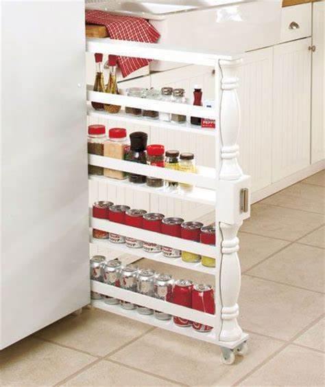 diy rolling spice rack white rolling slim can spice rack holder kitchen storage