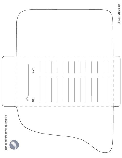 search results for cash envelope template printable