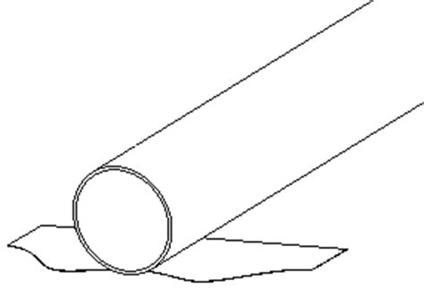 Solved The Circumference Of Sheet Metal Tube Is Different Autodesk Community Printable Pipe Cutting Templates