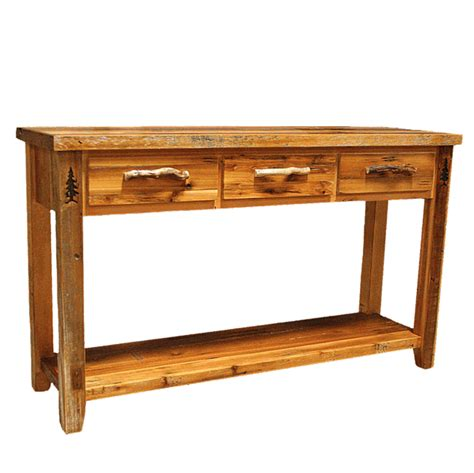 barnwood sofa table barnwood sofa table sofa table design top collection barn