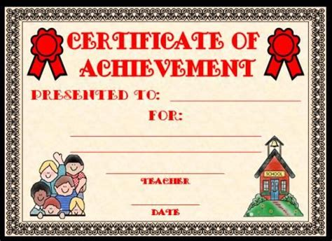 Templates Clipart Student Achievement Pencil And In Color Templates Clipart Student Achievement Free Certificate Templates For Students