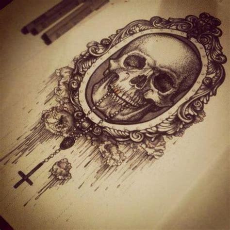 random tattoo designs skull and roses sleeve designs random