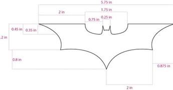 batarang template batarang template search for the batman costume