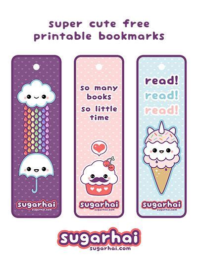 printable bookmarks make your own diy make your own cute bookmarks with these super cute