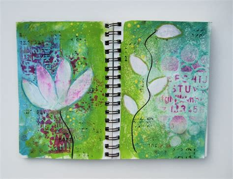 therapy journal flowers in therapy