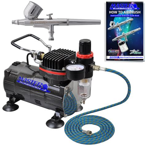 spray paint kit for cars professional master airbrush multi purpose gravity feed