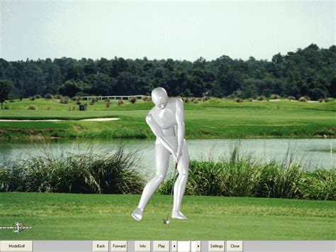 model golf swing download golfers love using modelpro interactive the revolutionary