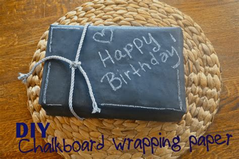 Chalkboard Craft Paper - chalkboard wrapping paper make the best of everything
