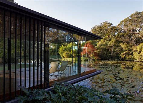 garden place pavillon glass pavilion takes the place of an orchard but keeps its