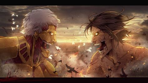 wallpaper anime hd attack on titan attack on titan eren 17 anime background animewp com