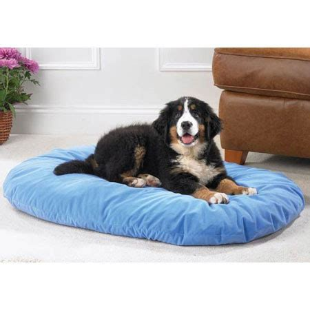 therapeutic dog bed petedge slumber pet therapeutic memory foam oval dog bed