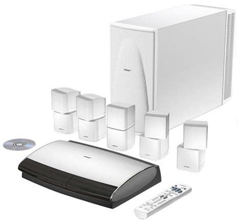 bose lifestyle 28 home entertainment system white