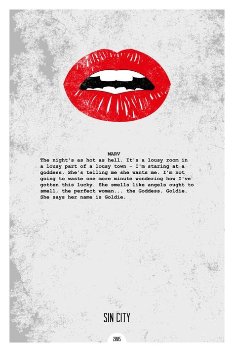 film quotes dope sin city 2005 minimal movie quote poster by dope