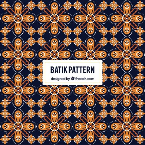design batik elegant elegant geometric background in batik style vector free