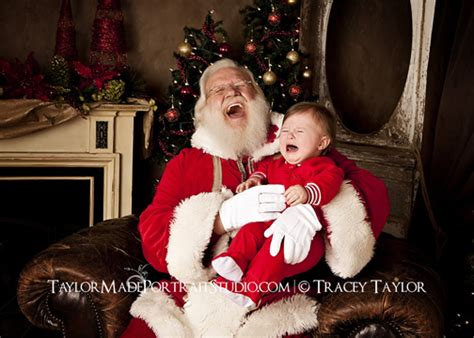 christmas santa portraits family  childrens